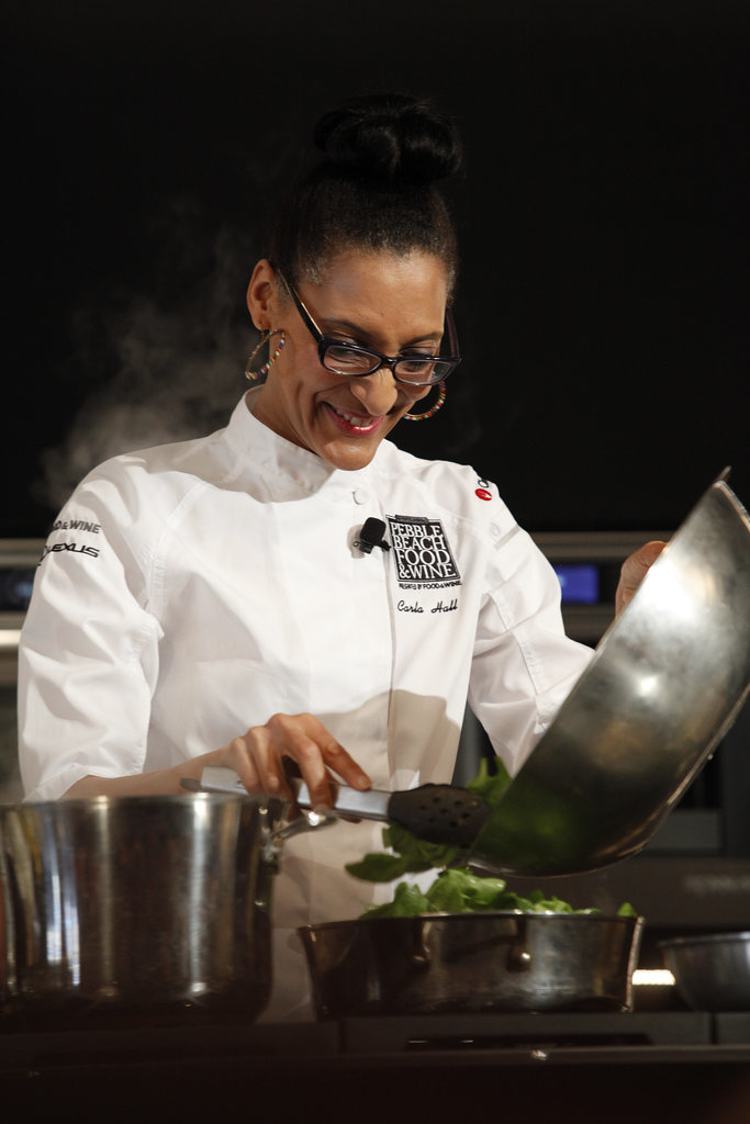 Carla Hall Cooking Demo
