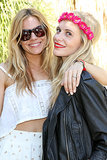 Sienna Miller and Poppy Delevingne