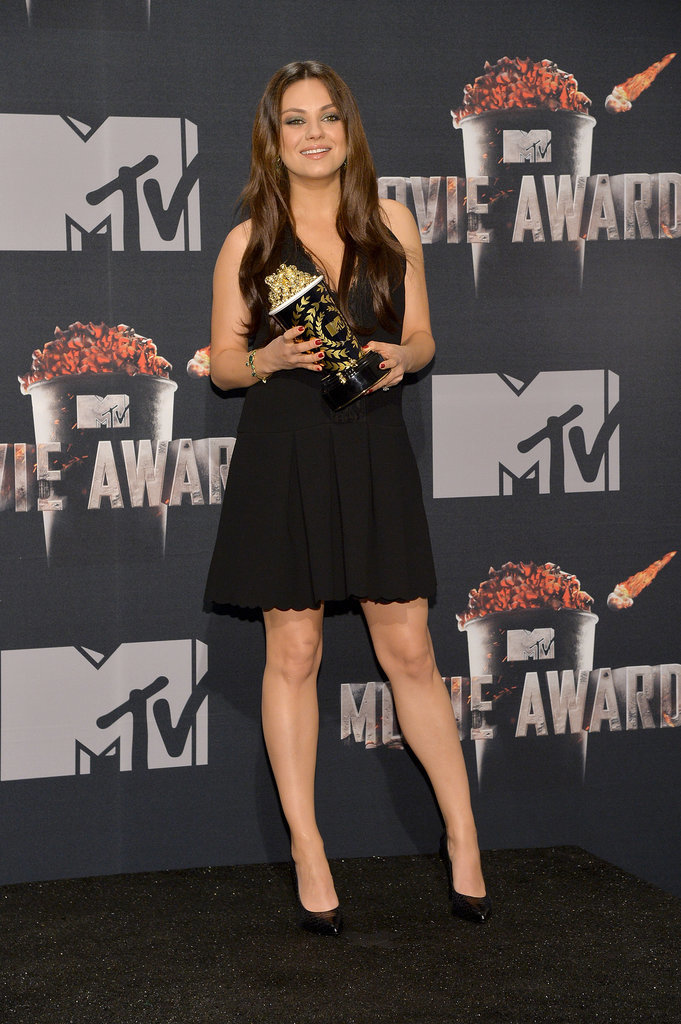 Mila Kunis at the 2014 MTV Movie Awards