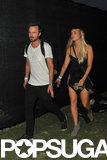 Aaron Paul took his wife, Lauren Parsekian, to the event.