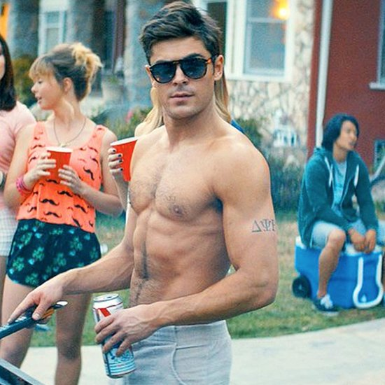 Hot Zac Efron Shirtless GIFs