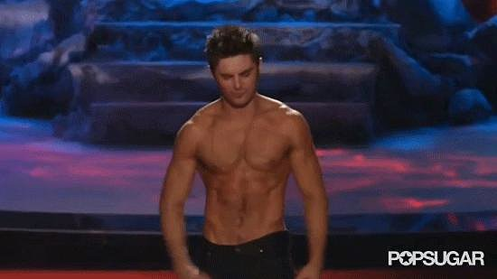 Best Visual Effects: Zac Efron's Abs