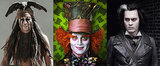 Johnny Depp's Weirdest and Wackiest Movie Looks