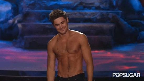 Most Inspiring and Heartfelt Acceptance Speech: Zac Efron