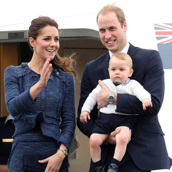 Prince William, Kate Middleton & George Leaving New Zealand