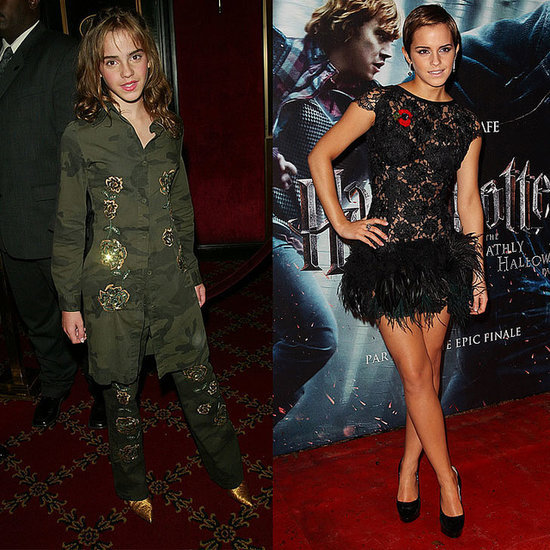 Style Stalkin' Timeline: Emma Watson's Best Red Carpet Looks For Harry Potter Premieres