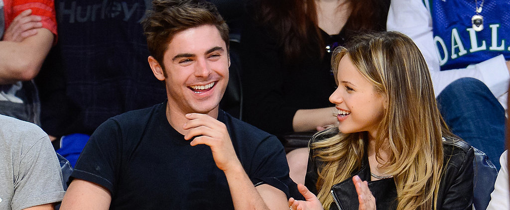 Speed Read: Zac Efron Is Reportedly Dating Costar Halston Sage