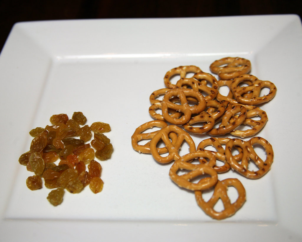 Pretzels With Raisins