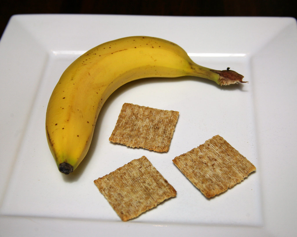 Banana and Triscuits