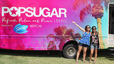 The epic weekend continued with the POPSUGAR Lounge at Vestal Village! Source: Ali Terwilliger