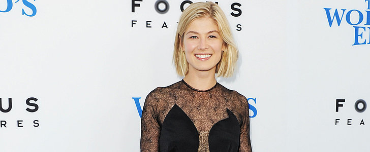 A Dress Almost Cost Rosamund Pike Her Gone Girl Role