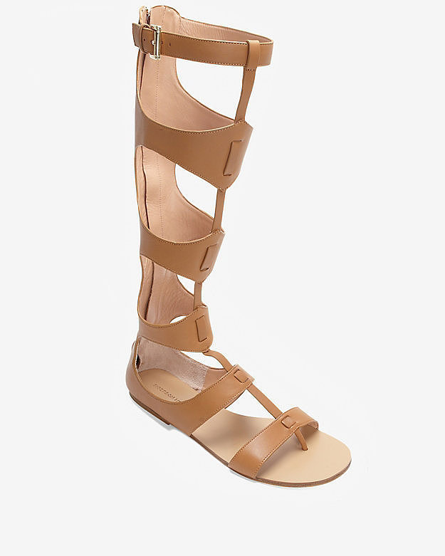 Sigerson Morrison Knee-High Gladiator Sandals