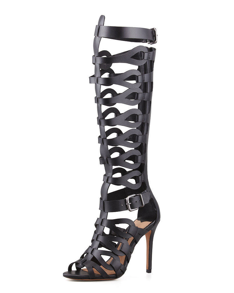 Schutz Knee-High Gladiator Sandals