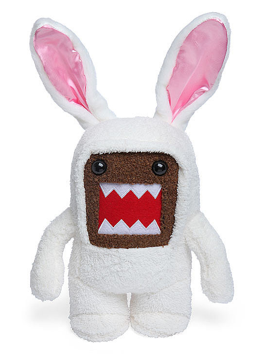 Easter bunny, step aside. This Domo plush bunny ($10, originally $18) is going to take the Easter basket center stage.