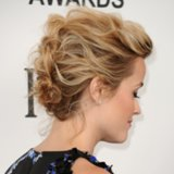 Bridal Updo Ideas From Celebrities for Weddings
