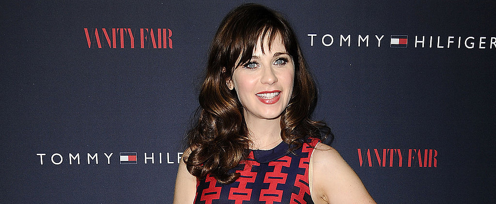 Zooey Deschanel Designs (And Sews!) Her Own Clothes!