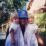 John Stamos shared the cutest throwback photo of himself and the Olsen twins. Source: Instagram user johnstamos