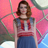 Emma Stone's Dresses at The Amazing Spider-Man 2 Premieres
