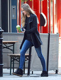 Cressida Bonas Wearing Isabel Marant Sneakers in London