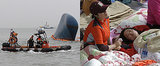 Loved Ones Gather as Rescue Efforts Continue For the Sunken South Korean Ferry