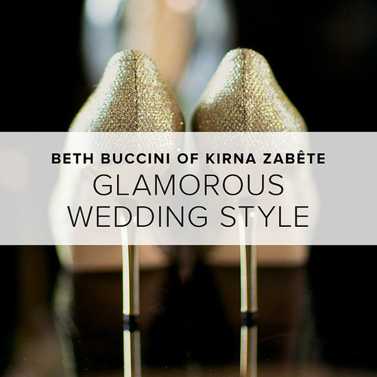 Glamorous Wedding Style by Beth Buccini of Kirna Zabete