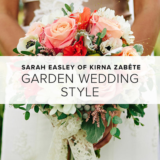 Garden-Party Wedding Style by Sarah Easley of Kirna Zabete