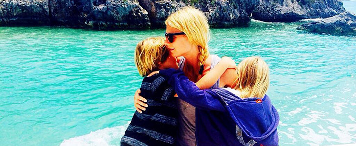 Gwyneth Paltrow Tweets the Sweetest #TBT