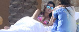 Kourtney Kardashian Squeezes In a Pre-Easter Bikini Getaway