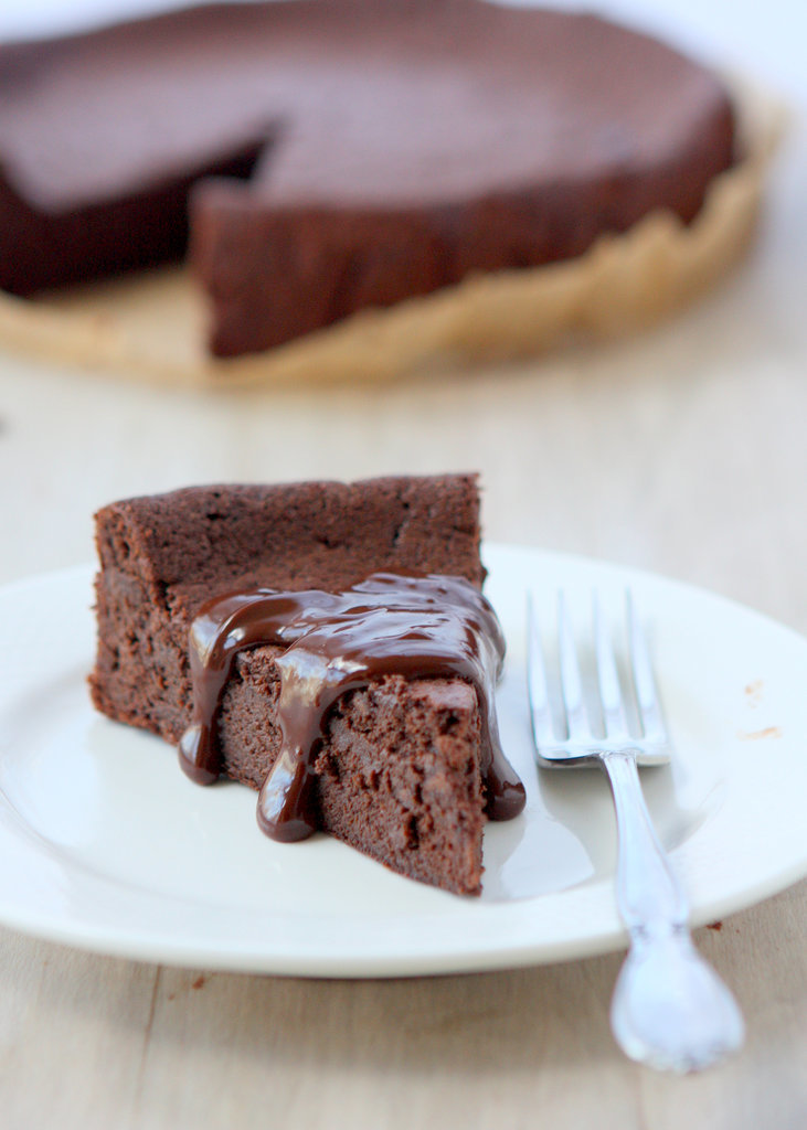 Flourless Chocolate-Cardamom Torte