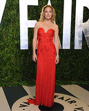 Kate Hudson in Vintage Versace at 2012 Vanity Fair Oscars Party