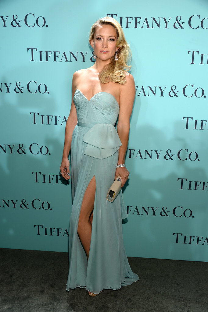 Kate Hudson in Reem Acra at 2013 Tiffany & Co. Blue Book Ball
