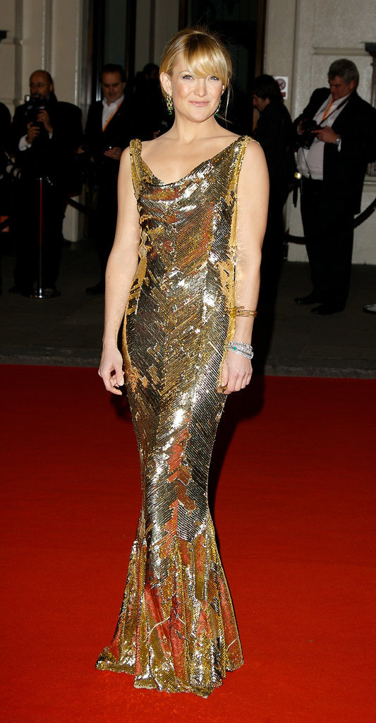 Kate Hudson in Dior at the 2008 Orange British Academy Film Awards