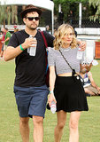 Joshua Jackson wrapped his arm around Diane Kruger.