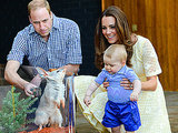 Prince George Spends Easter at Australian Zoo