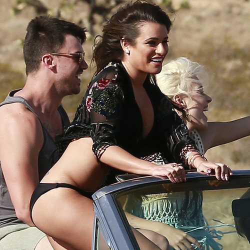 Lea Michele Films On My Way Music Video | Pictures