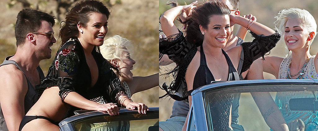 Lea Michele's Guide to Shooting a Super Sexy Music Video