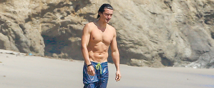 Orlando Bloom Still Looks Really Good Shirtless