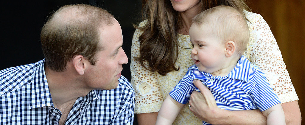 Prince George's 10 Most Precious Tour Moments With His Dad