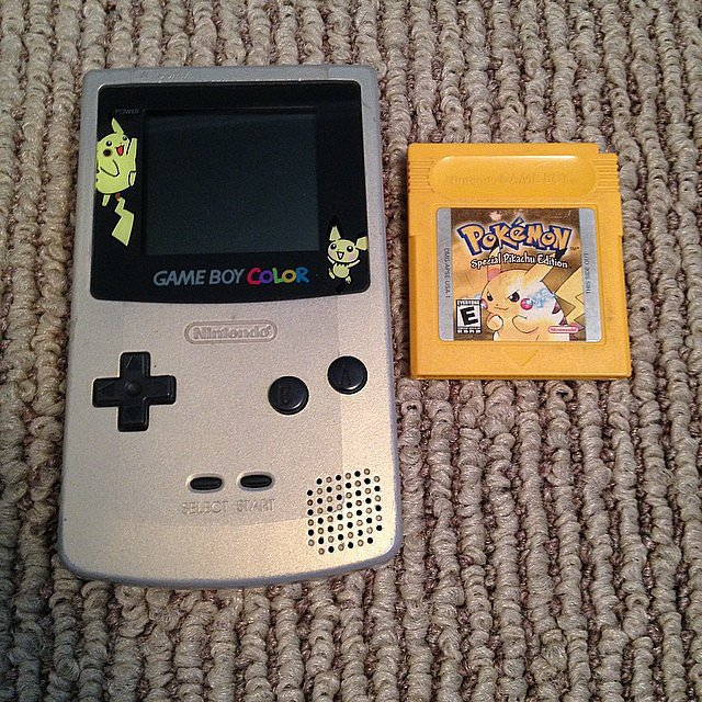 Spent way too many hours trying to beat Pokémon Red, Blue, Gold, Silver, Emerald . . . The list goes on. Source: Instagram user bunny_madhatter