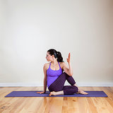 Yoga Pose 5: Seated Spinal Twist