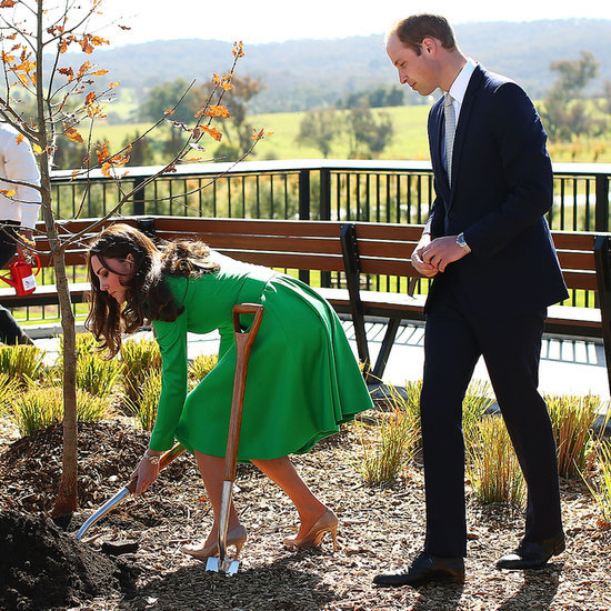 Kate Middleton and Prince William in Canberra
