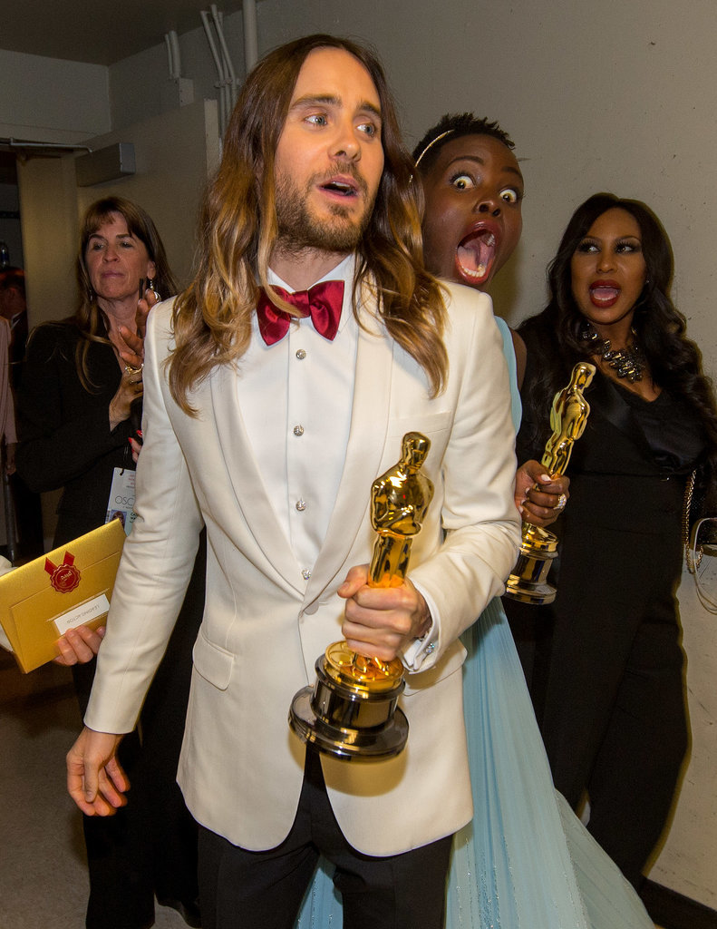 When She Photobombed Jared Leto