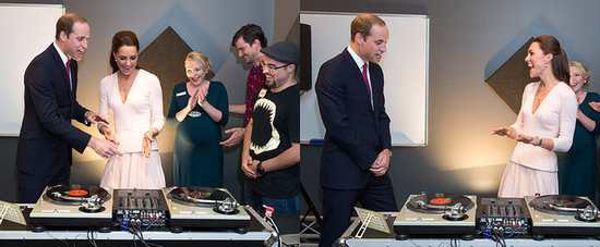 Watch Kate Totally Own William With Her DJ Skills