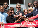 Jon Bon Jovi Helps Open Low-Income Housing in Philly