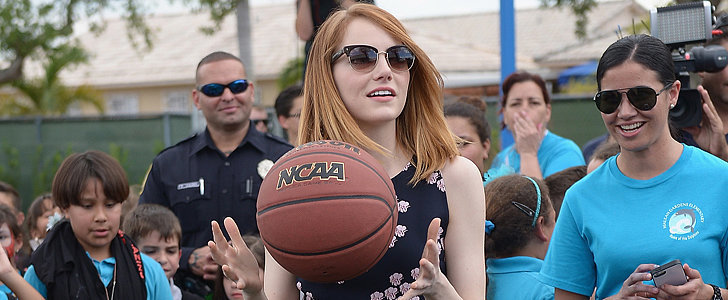 Emma Stone Shoots (and Scores!) in Her Latest Style