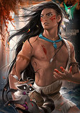 Gender-Flipped Pocahontas