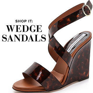 Refined Wedge Sandals