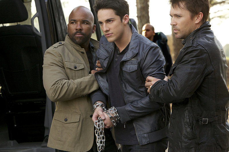Things aren't looking great for Tyler (Michael Trevino).