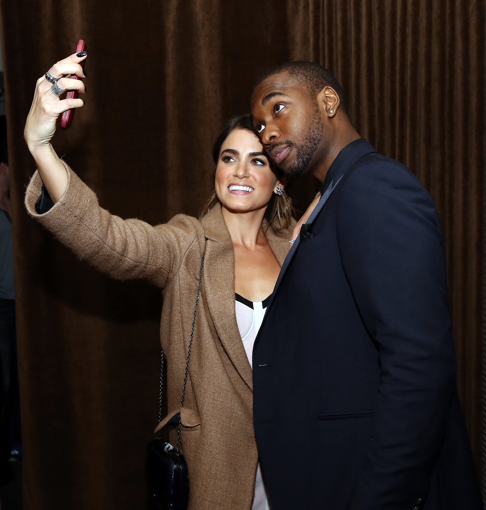 Nikki Reed and Jay Pharoah snapped a selfie at the afterparty for their film, Intramural.
