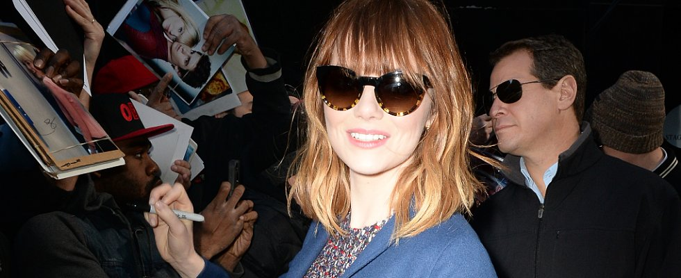 Haircut Alert! Do You Dig Emma Stone's New Bangs?